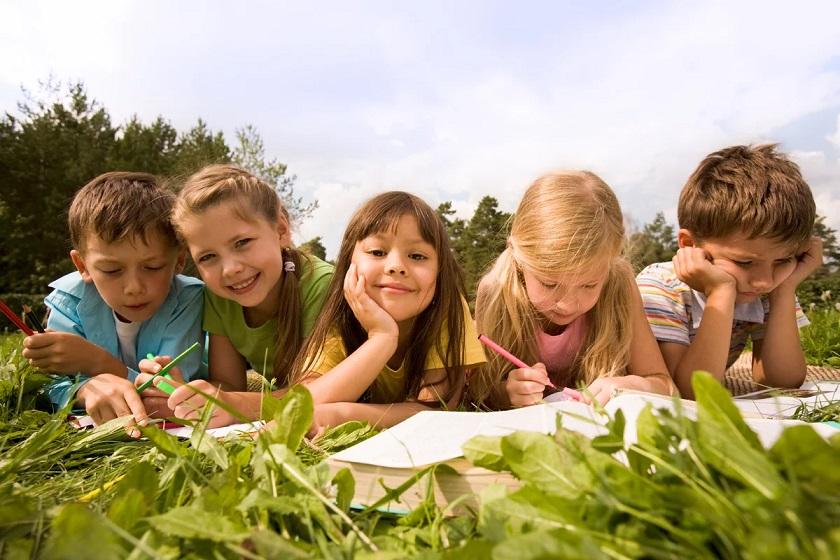 Школьные каникулы в Бекасово